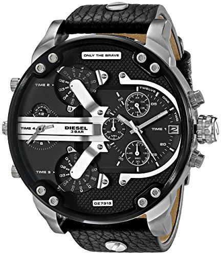 Diesel Mr. Daddy Dz7313 Orologio da uomo, colore: nero