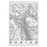 artboxONE Poster 60x40 cm Städte Zürich Schweiz