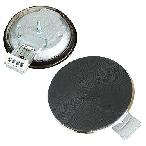 4YourHome Universal de cocina de 1000 W sólido entusiásticamente Element 145 mm de ancho x 4 mm de la llanta