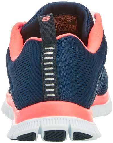 Skechers Flex Appeal Sweet Spot Damen Sneakers Blau (NVHP)