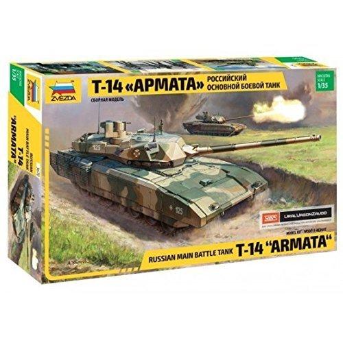 500783670 - Zvezda 1:35 T-14 Armata Russ. Main Battle Tank