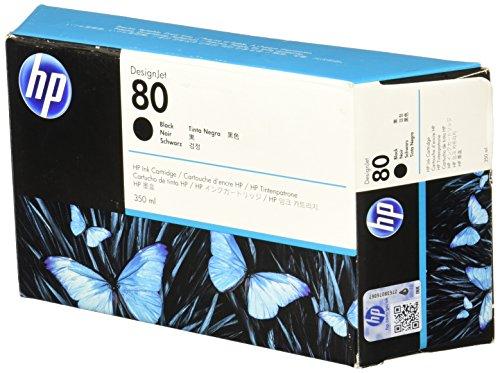 HP 80 Schwarz Original Tintenpatrone, 350 ml - Hp Compaq-system