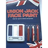 Jubilee Party Union Jack Face Paint by PMS