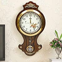 Yuany Creative European Watch The Watch/Brass Rotatable Wall Clock - 25 inches