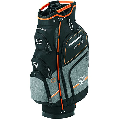 Wilson Staff Nexus III CARTE golf sac - Noir/orange