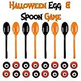THE TWIDDLERS Halloween Staffellauf Spiel saisonales Party Spiel Laufen balancieren von Augäpfeln auf Löffeln - Halloween & Geburtstage