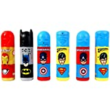Perpetual Bliss™ (Pack Of 6) Super Hero Theme Pencil Box With Stationary KIT, Return Gifts For Kids Birthday Party (for More Gifts Search For Perpetual Bliss™)