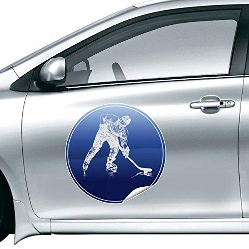 DIYthinker Wintersport Eislauf und Eishockey Aquarell-Auto-Aufkleber auf Auto-Styling Aufkleber Motorrad-Aufkleber für Autozubehör 15Cm