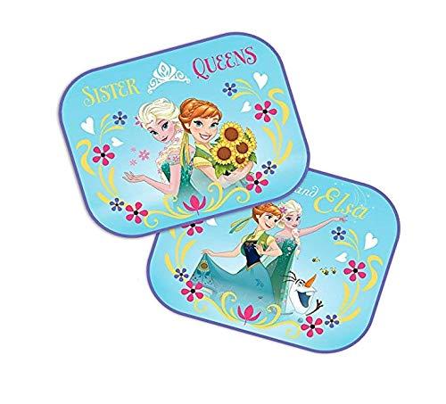 DisneyFrozen : 2 x Auto Sonnenschutz/Vorhänge / Seitenscheibe/Sonnenblende inklusive UV Schutz für Baby und Kind