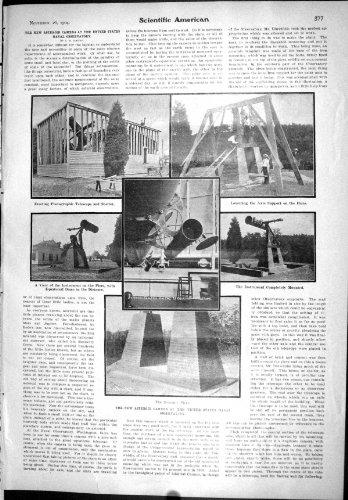Teleskop-pier (Sternartige Kamera-MarineObservatorium-Teleskop-Pier-Wissenschaftlicher Ameri...)