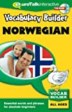 Vokabeltrainer Norwegisch, 1 CD-ROM Wörter und Redewendungen für Anfänger. Windows 98/2000/ME/XP und MacOS 9 oder X. Für alle Altersstufen