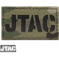 Multicam JTAC Joint Terminal Attack Controller Air Support FAC Infrared IR 3.5x2 Reflective Tactical Morale Touch Fastener Patch