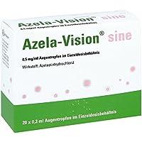 Azela-vision sine 0,5 mg/ml Augentropfen i.einzeld 20X0.3 ml preisvergleich bei billige-tabletten.eu