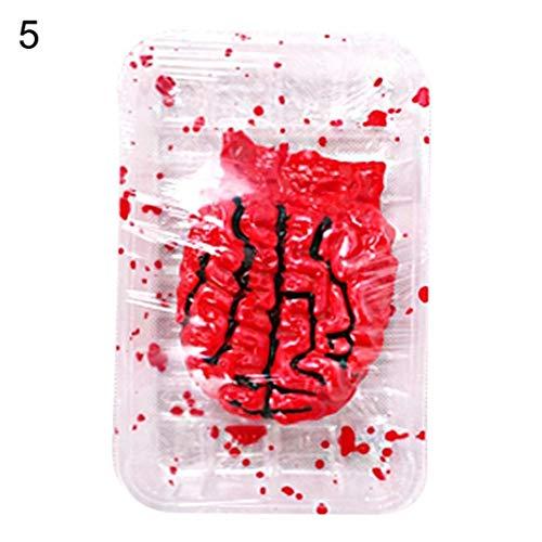 ische blutige Hand Fuß Körper Teil Platte Halloween Dekor Party Streich Requisiten - Cerebellum ()