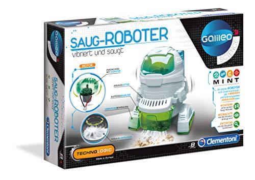 Clementoni 59109 Clementoni-59109-Galileo Technologic-Saug-Roboter, Mehrfarben