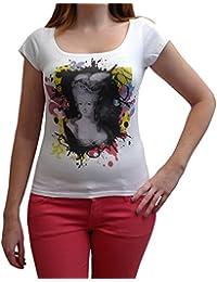 Marie-Antoinette , T-shirt Femme imprimé, Blanc, t shirt femme,cadeau
