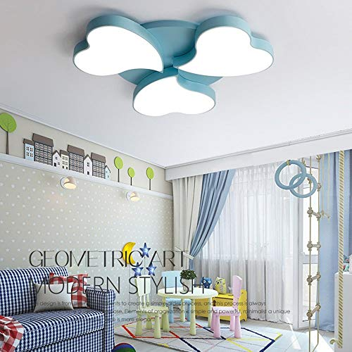 L.TSA Kreative Moderne Farbe Blume Schmiedeeisen Deckenleuchte Mode Einfachen Acryl Deckenleuchte Schlafzimmer Wohnzimmer Kronleuchter Kinderzimmer Thema Pendelleuchte (Design: 2)