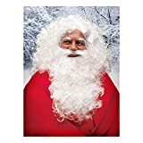 Weihnachtsmann - Bart und Perücke