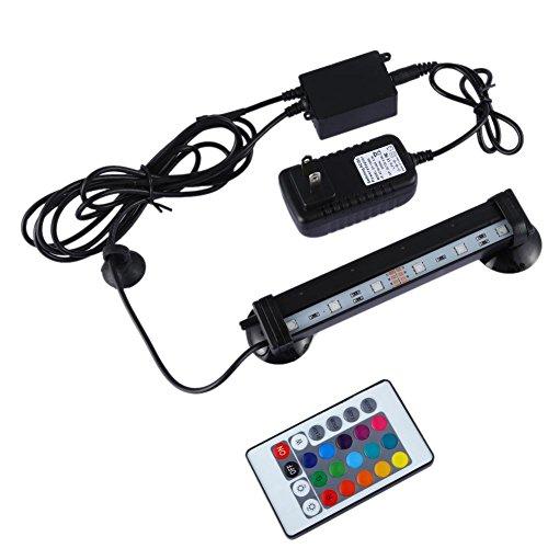 Starnearby RGB - Lámpara LED para acuario de acuario, luz sumergible (16 cm)