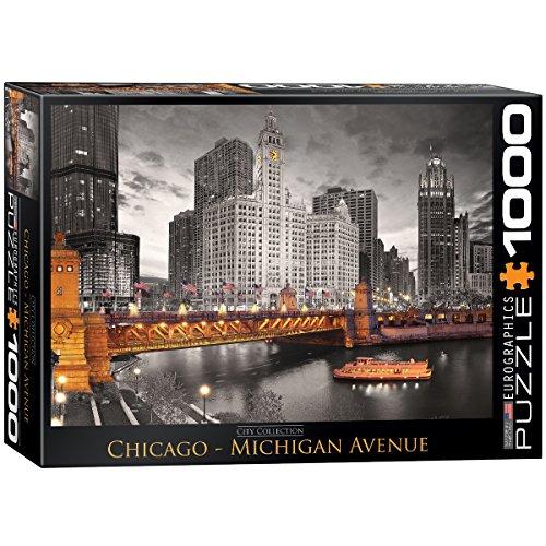 Eurographics Chicago River, Puzzle 1000 Pezzi