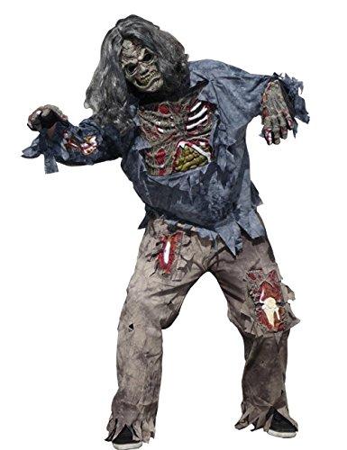 Generique - Schreckliches Zombie-Kostüm Herren Halloween M / - Schrecklich Herren Kostüm