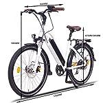 NCM-Milano-Bicicletta-elettrica-da-Trekking-250W-Batteria-48V-13Ah-624Wh-Bianco-26