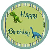 CS-Dekor Tortenaufleger Dinosaurier 08