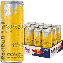 Red Bull Tropical Bebida Energética - Paquete de 12 x 250 ml - Total: 3000