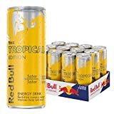 Red Bull Tropical Bebida Energética - Paquete de 12 x 250 ml - Total: 3000 ml