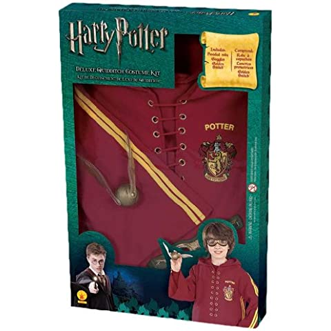 Harry Potter Deluxe Quidditch Costume Kit by Rubie's