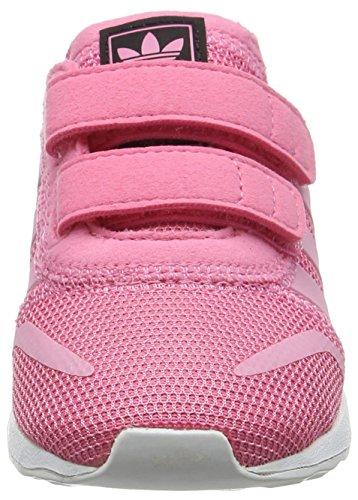 adidas UnisexKinder Los Angeles Cf Sneaker Low Hals Pink
