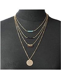Goldkette damen stern  Suchergebnis auf Amazon.de für: Goldkette Mit Perlen - Letzte 3 ...