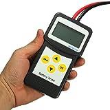 RISHIL WORLD 12V Car Battery Tester Automotive Vehicle Battery Analyzer AGM Gel MICRO-200
