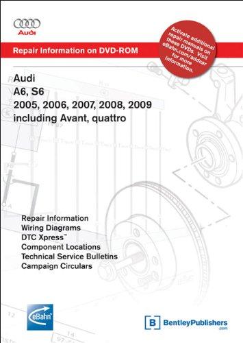 Preisvergleich Produktbild Audi A6,  S6 2005,  2006,  2007,  2008,  2009: Repair Manual on DVD-ROM: Including Avant,  Quattro
