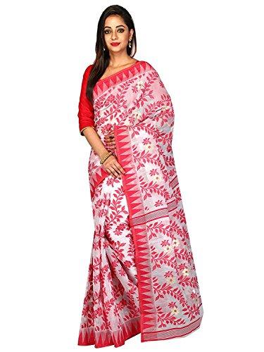 Tjsarees Silk Saree (TJ500068_White_Free Size)