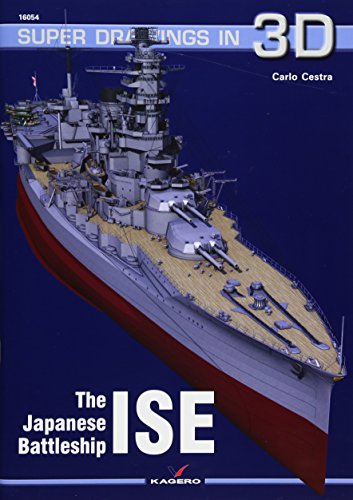 The Japanese Battleship Ise (Super Drawings in 3D) por Carlo Cestra