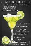 Schatzmix Cocktails Rezept Recipe Margarita Tequila Triple Sec Lime Schwarz Hintergrund blechschild