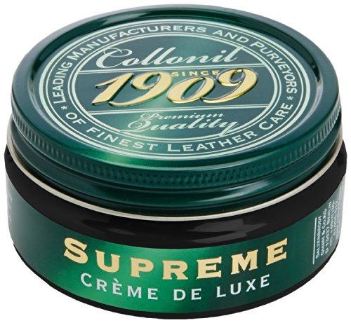 Poliertes Kalbsleder (Collonil Unisex erwachsene 1909 Supreme Creme De Luxe Schuhe Behandlungen & Poliert - Schwarz, 100.00 ml)
