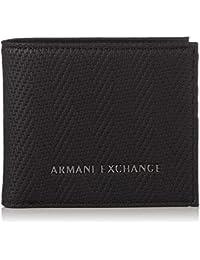 Armani ExchangeLogo Credit CardHombreCarterasNegro (Black Chevron)9x1x11  centimeters (B x H x T e9820a7339af