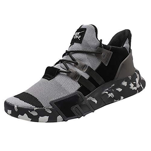 Mesh Sneaker, Quaan Licht Atmungsaktiv Sport Schuhe Weise Laufen Schuhe Gemütlich Weich Gemütlich Beiläufig Sport Draußen Retro Tarnen Turnschuhe