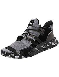 Zapatos Hombre Black Friday Casuales Invierno Hombres Niños Zapatillas de Deporte Casuales Deportes Correr Camuflaje Plano