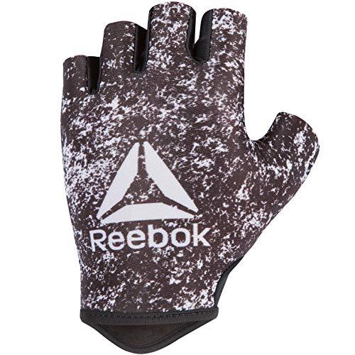Reebok Damen Handschuhe Womens Fitness Gloves - Black, White/S, Black, White, S, RAGB-13633