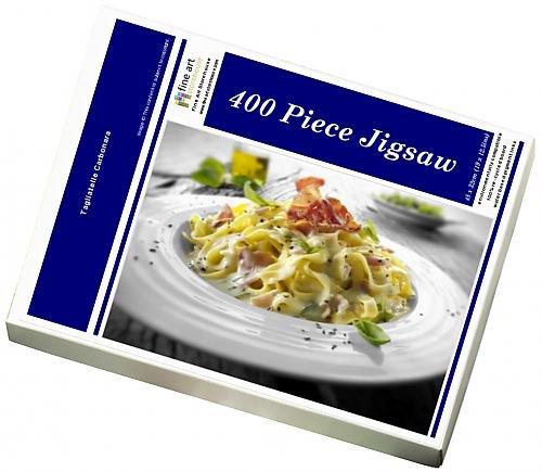 Media Storehouse 400 Piece Puzzle of Tagliatelle Carbonara (12524393)
