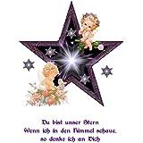 Sternenkinder Motiv für Kerzen, Karten ; etc. selbstklebend