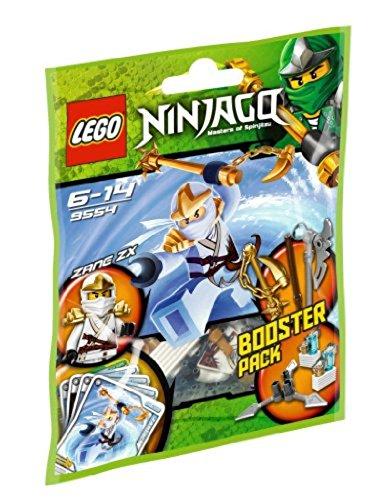 LEGO Ninjago 9554 - Zane ZX (Spielkarten Waffen)