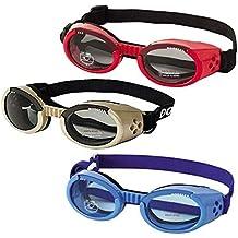 Doggles ILS - Gafas de sol para perros (extra-pequeñas), color cromo