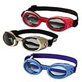 Doggles ILS Hunde-Sonnenbrille, verchromt)