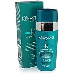 Kerastase - Gamme Résistance - Double Sérum Thérapiste pour cheveux fins et épais, Recréateur de fibre neuve pour les pointes - 30ml
