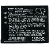 Batterie Panasonic Lumix DMC-TZ1EG-S, Lumix DMC-TZ11GK, Lumix DMC-TZ1EF-S,, Li-ion, 1000 mAh