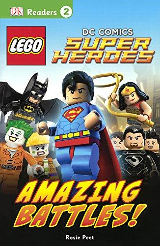 Lego DC Comics Super Heroes: Amazing Battles! (DK Readers: Level 2)